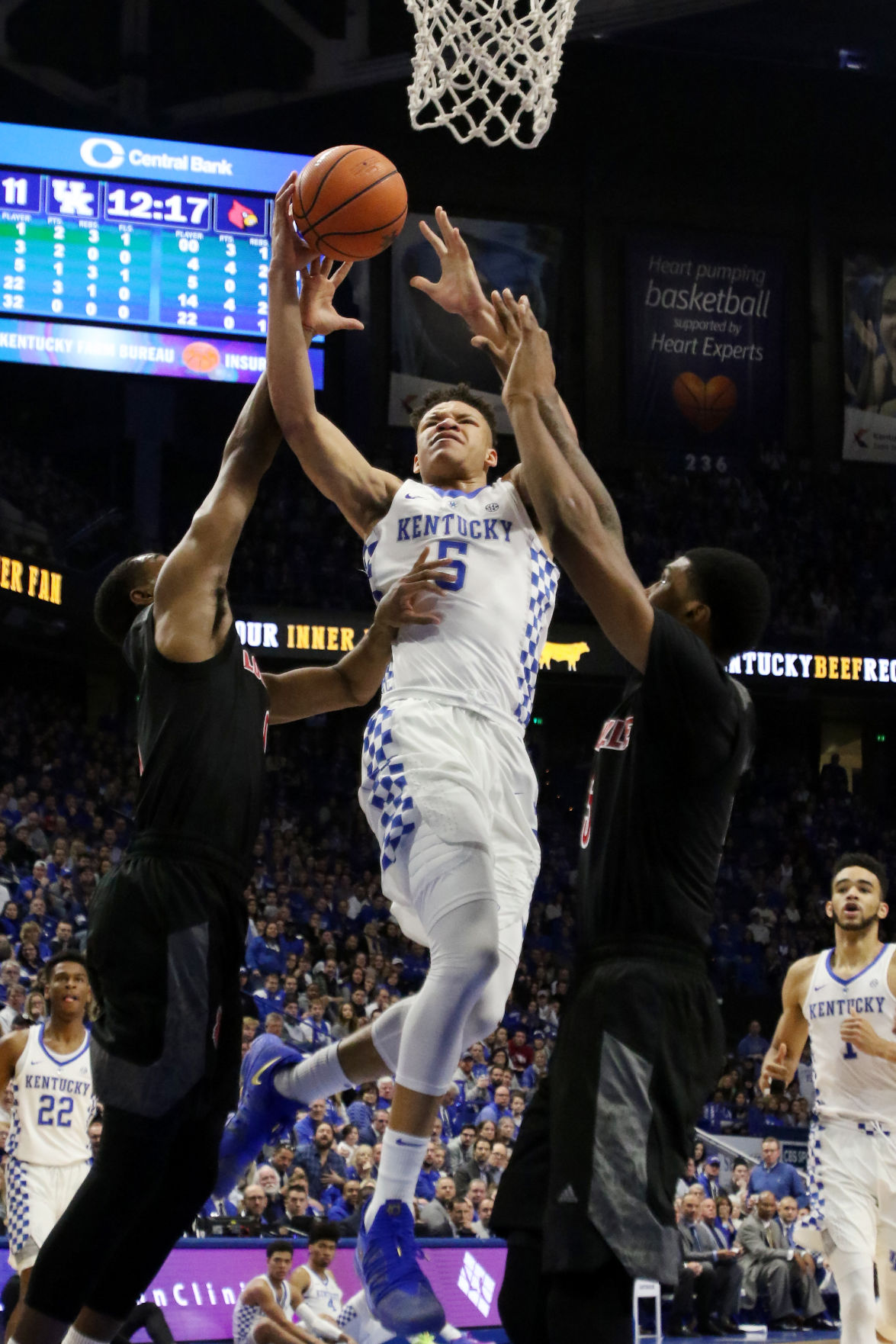 Kevin knox now practicing with the forwards sports kykernel uk mens basketball vs louisville sciox Gallery