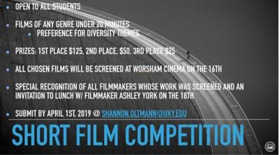 Film competition flyer