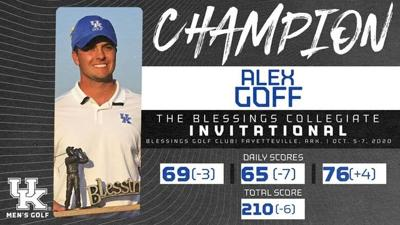 Alex Goff, Blessings Champion