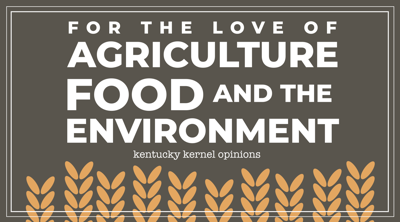 for the love of agriculture column sig