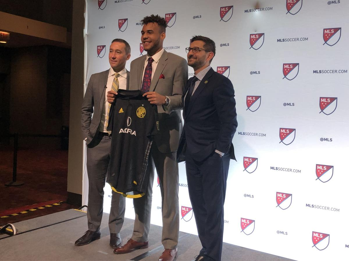 7b726f36adcb0 Williams selected as the 18th pick by Columbus Crew | Sports | kykernel.com