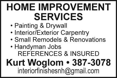 HOME Improvement Svcs Woglom