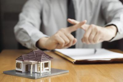 Bank does not approve home loan
