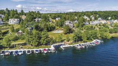 Long Bay and South Down Shores on Lake Winnipesaukee