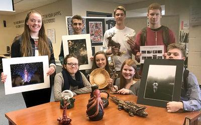 GHS student artists win Scholastic Art awards