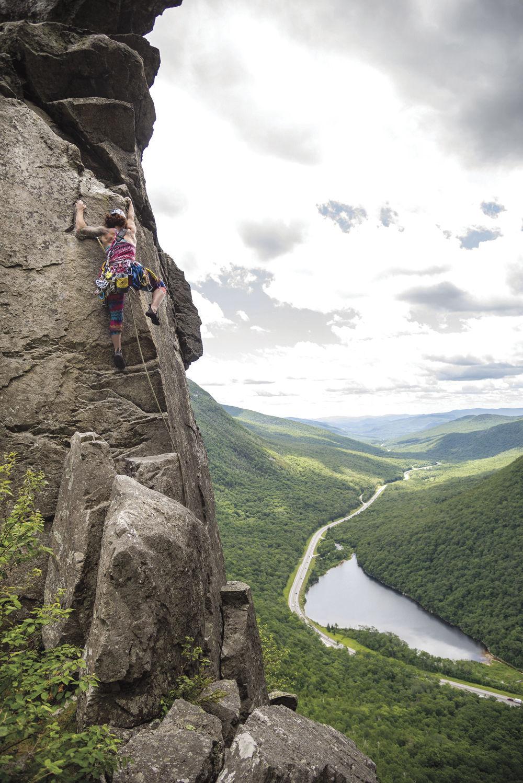 05-Robin climbs Eaglet