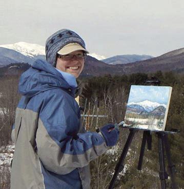 Ashland artist Jessica Fligg to present at Lakes Region Art Association Gallery