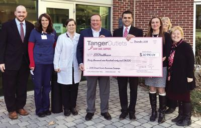 12-18 Tanger Donation to LRGHealthcare