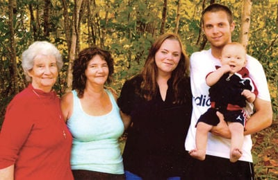 Family with Laconia roots gets 2 photos with 5 generations