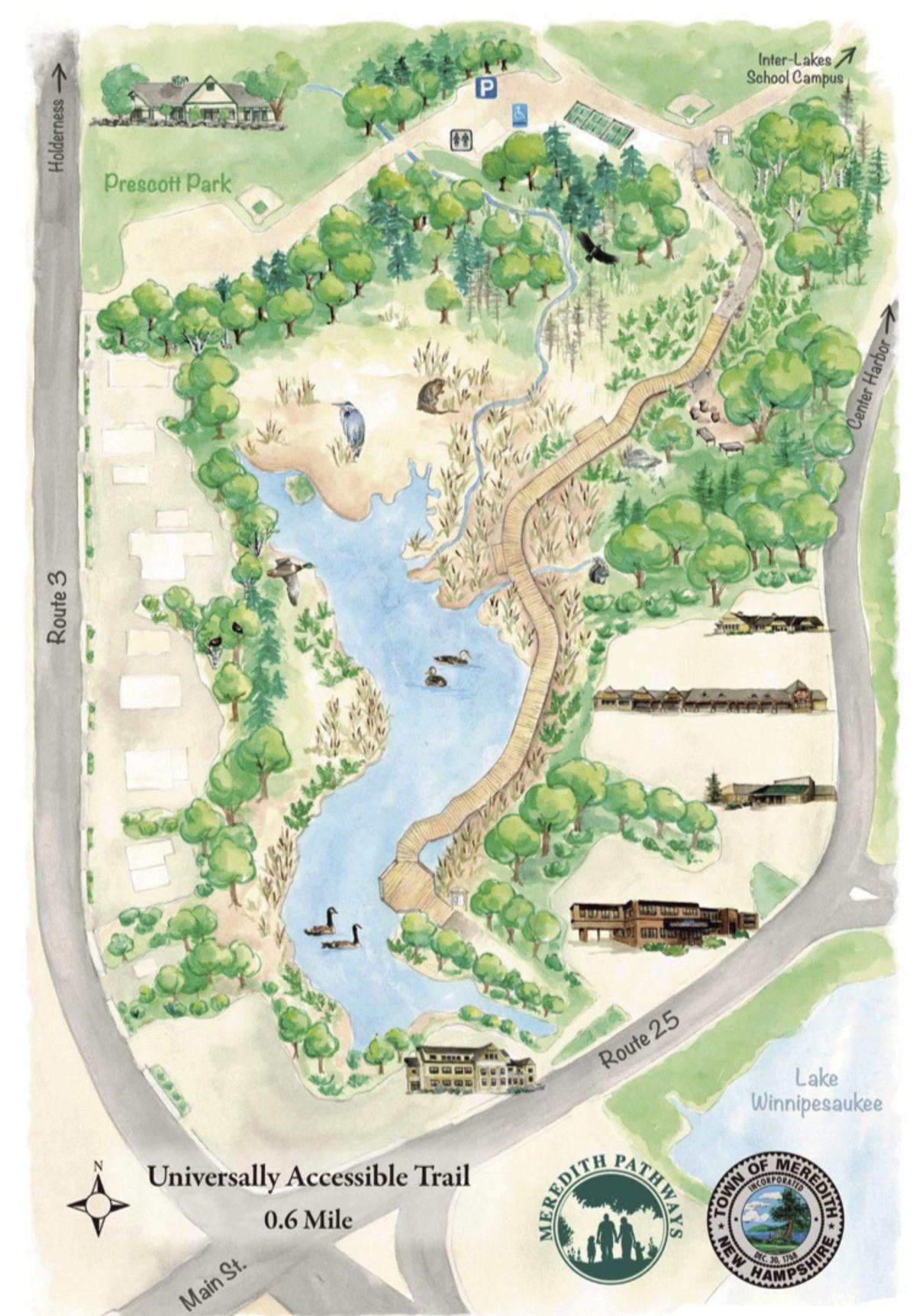 Laverack Nature Trail - Steinwachs Kiosk