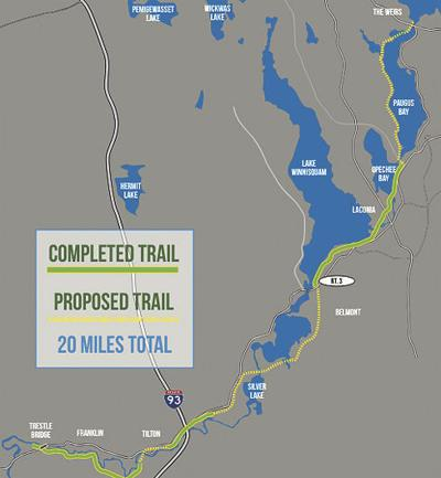 WOW Trail Map
