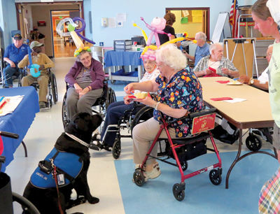 Lucky Jr. honored at Veterans Home