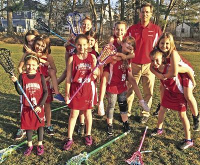 2018 Lacrosse 10U girls team