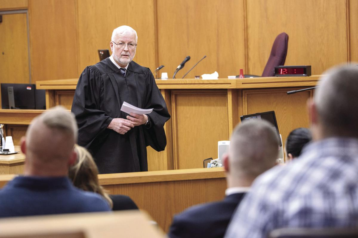 Recovery Court Judge James Carroll