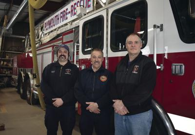Climbing the ladder: Fire chief moving on, others move up