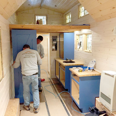 tiny house takes the stage local news laconiadailysun com rh laconiadailysun com