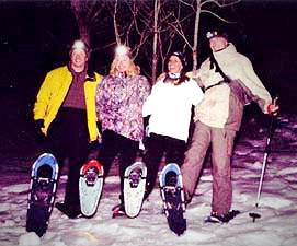 02-19 OUTDOORS Moonlit Snowshoe