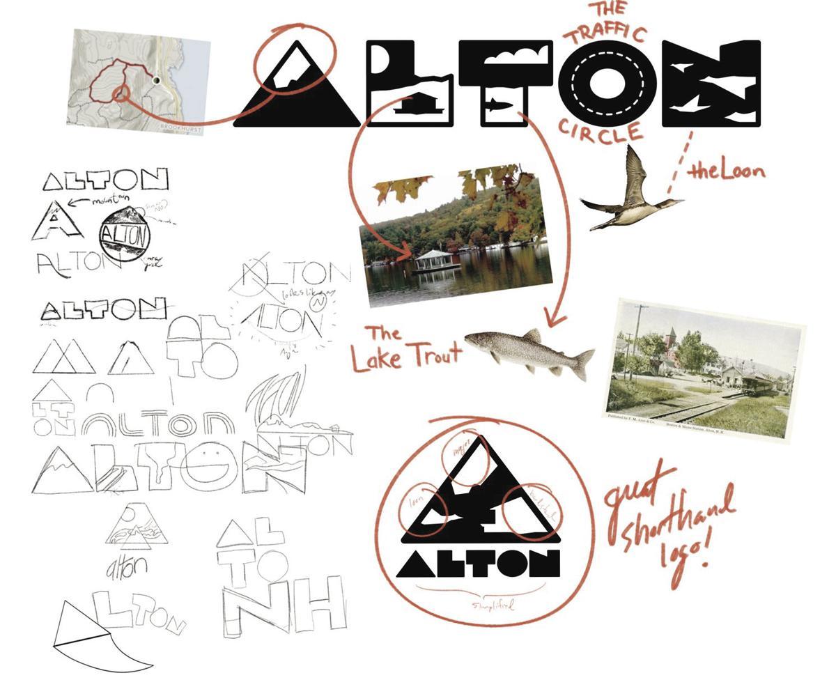 Alton logo design