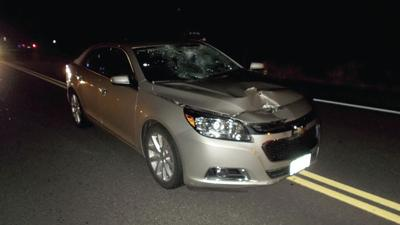 Belmont pedestrian seriously hurt when hit by car on Rte  106