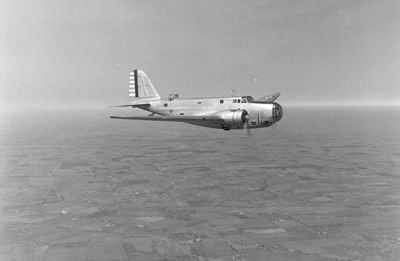 Finding the crash site of the B-18
