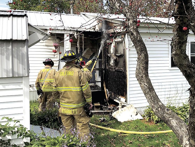 Quick work nips mobile home fire in the bud | Local News
