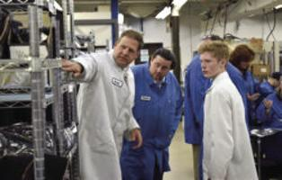 Sununu visits Milpower Source