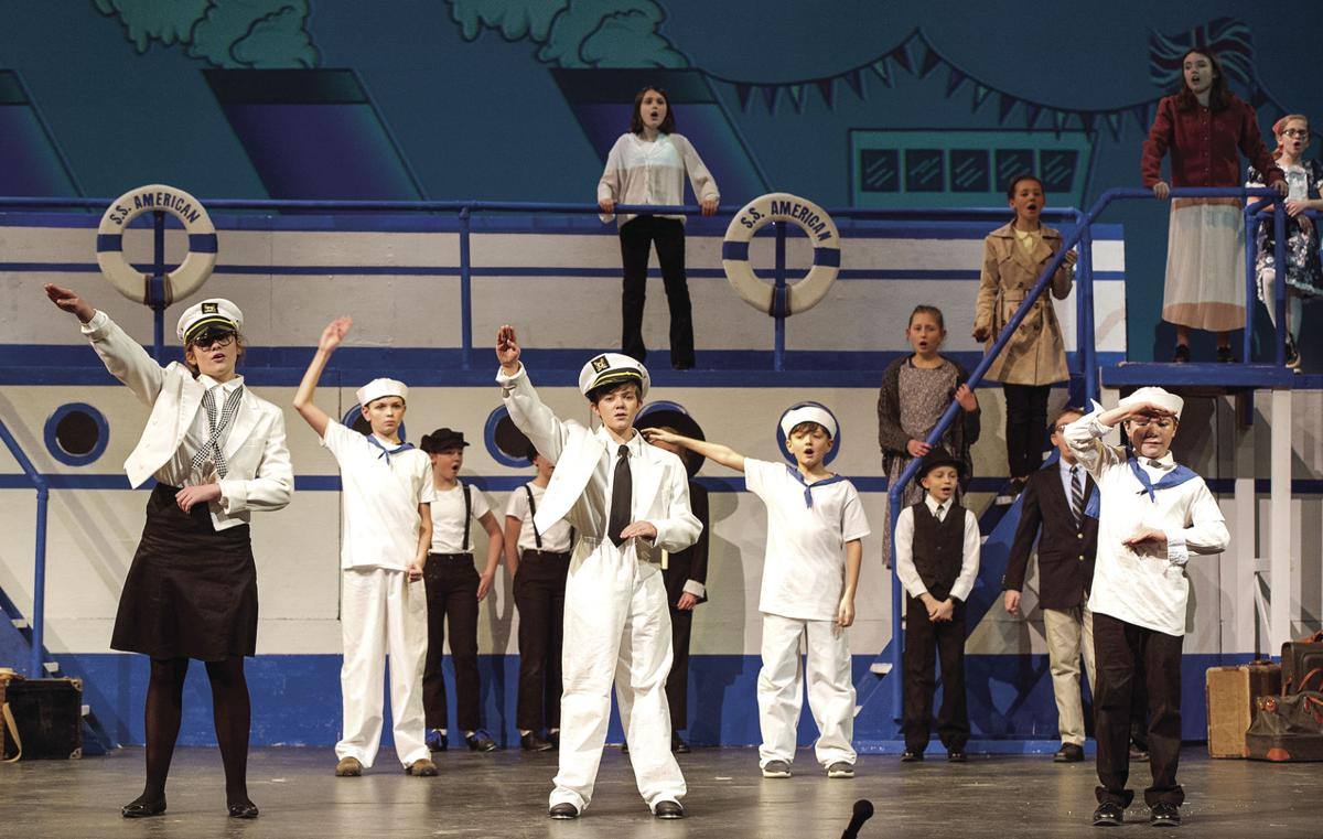 'Anything Goes' at Gilford Middle School