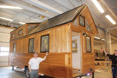 tiny house takes the stage local news laconiadailysun com rh laconiadailysun com