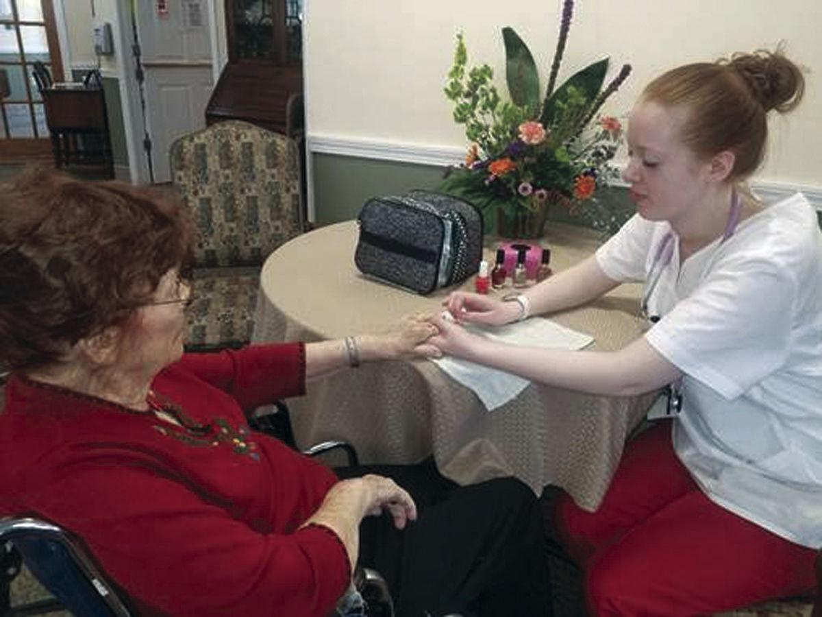 Peabody Home assists in nurse training | Announcements