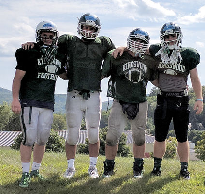 Kingswood High School football fights cancer