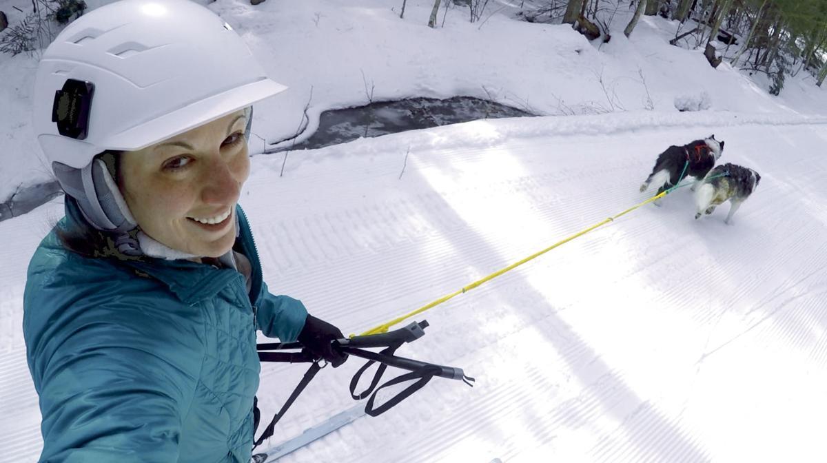 01-26 OUTDOORS Skijoring Gunstock