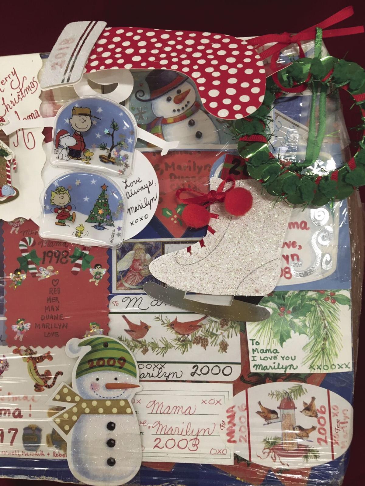40-year-old Christmas box