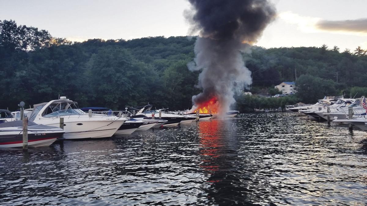 Boat fire 2