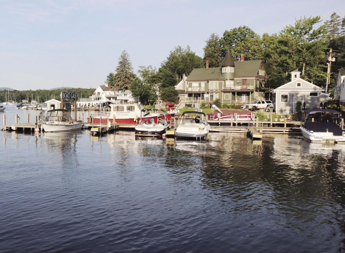 Port of all: Dock and walk on Winnipesaukee   Boating