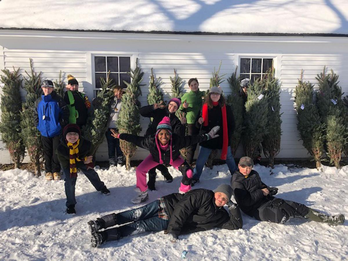 02-11 Children's Auction Christmas Trees