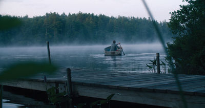 Independent film makers find 'perfect' setting on Sandwich pond