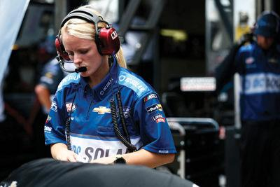 Meet the chief engineer for a NASCAR racing team; Katelyn Supan was raised in Gilford & went to New Hampton Prep