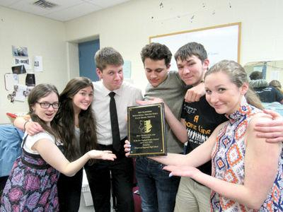 Gilford High School drama students ready for New England Showcase
