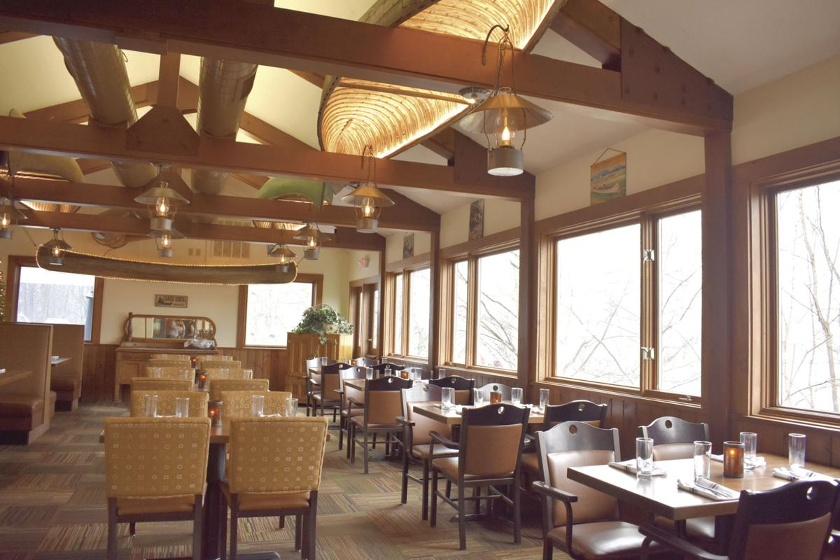 Canoe dining room
