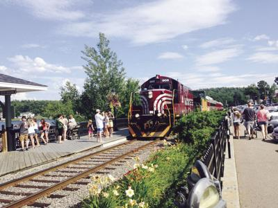 Hobo & Winnipesaukee Scenic Railroad draws visitors to the Lakes and White Mountain regions