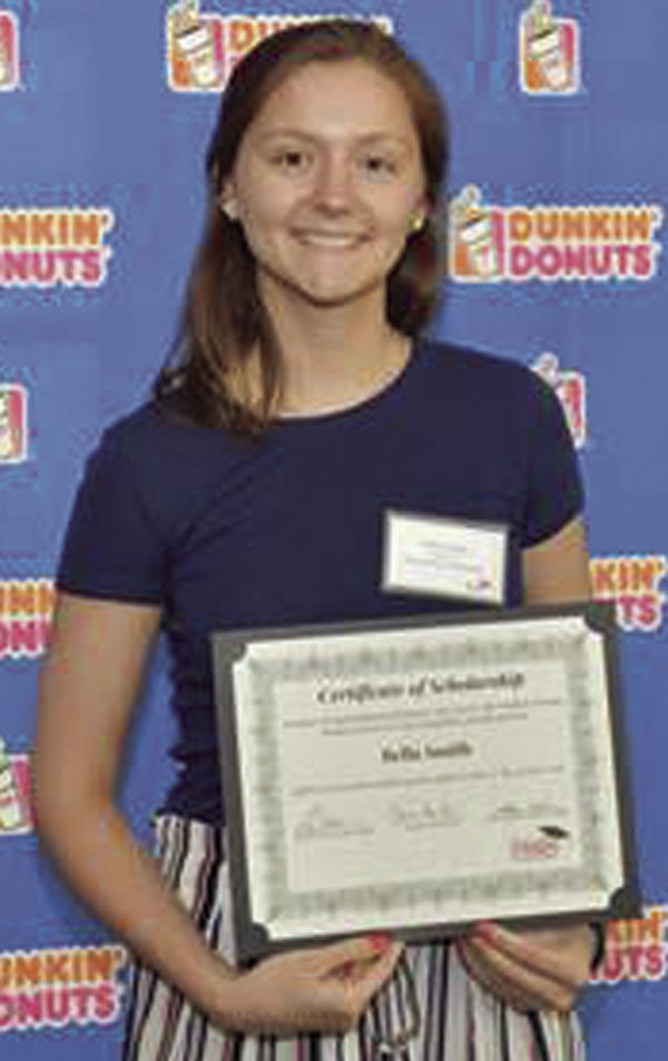 Dunkin Donuts Scholarship Goes To Bella Smith Announcements