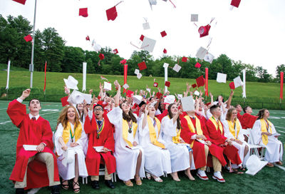 The Laconia High School Class of 2017
