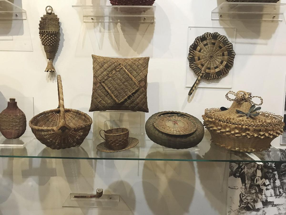 Baskets and canoes