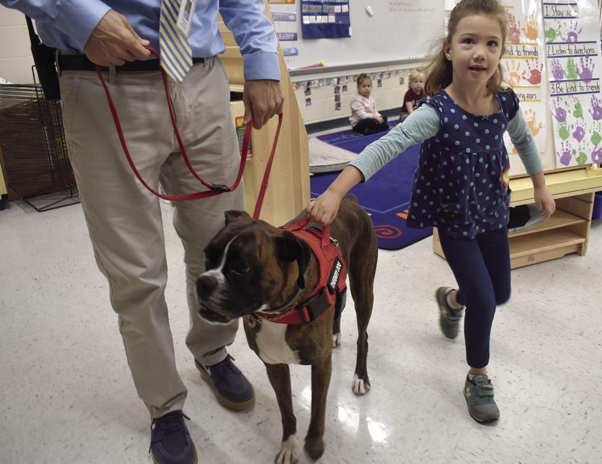 10-31 PSS Therapy Dog walk