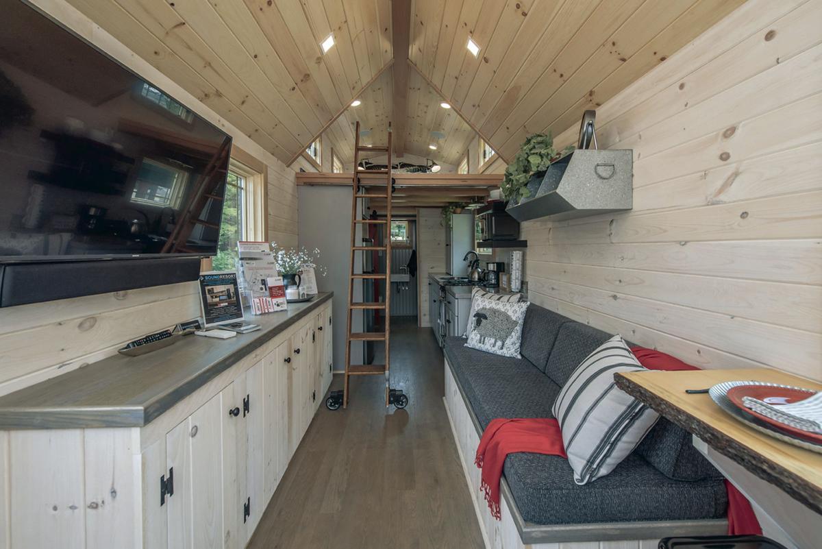 Pleasant Student Built Tiny House For Sale Announcements Download Free Architecture Designs Ferenbritishbridgeorg