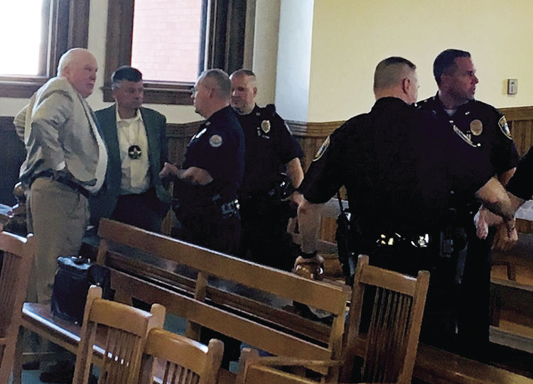 Board, police tell it to judge | Local News