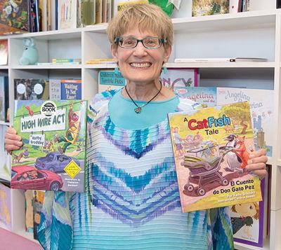 Award-winning children's book author to appear at Beans and Greens Saturday morning