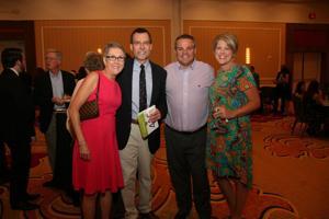 Sharon and John Headrick, Josh and Amy Mistler