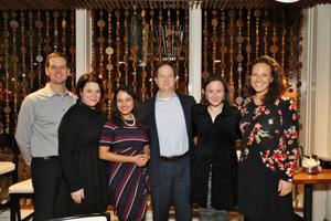 Paul and Trish Dinkins, Raisaa Tashnovia, Dan and hillary Elfenbein, Molly Goldstein
