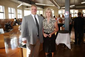 Awardee Paul T Krispin Jr., and Nancy Krispin